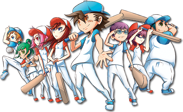 Cricket Blast Anime Team